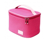 large size PU cosmetic case by hand carry CO-003