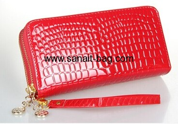 Ladies pressure embroidery PU purses, coincase ,handbag WW-004