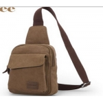 Men one-shoulder strap canvas messenger bag MM-004