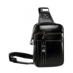 High quality men genuine leather single shoulder leisure messenger bag MM-007