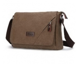 Mens crossbody bag with flap cover MM-013
