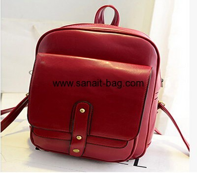 Fashion PU backpack for ladies WB-009