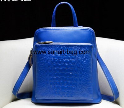 Women leisure PU backpack laptop bag WB-017
