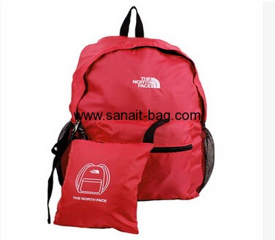 Women easily foldable travel oxford backpack WB-021
