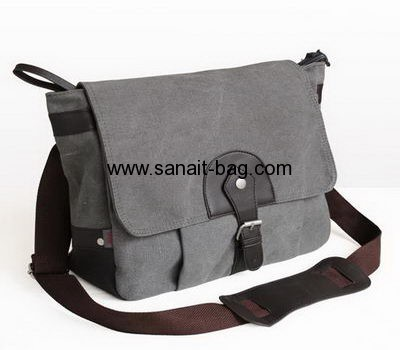 New fashion design high quality canvas messenger bag for man MM-002