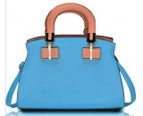 Latest fashion design PU leather handbag with crossbody strap for women WT-078