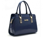 Lovely competitive price fake genuine leather tote bag for ladies WT-079