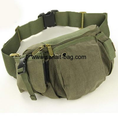 Canvas waist bag for man and women MWB-001