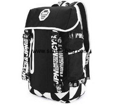 Nylon school bag travel backpack sport bag for women and men WB-047