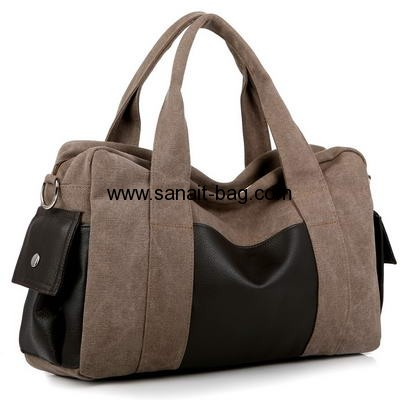 High quality high capacity canvas sports bag for man SP-003