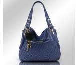Latest fashion PU leather handbag for middle edged women WT-089