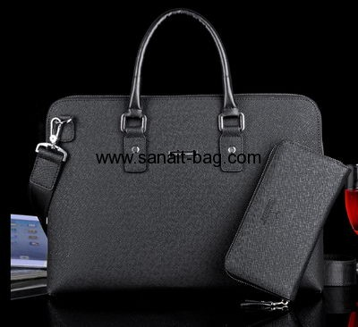 Top selling fashion design genuine leather tote bag MT-034