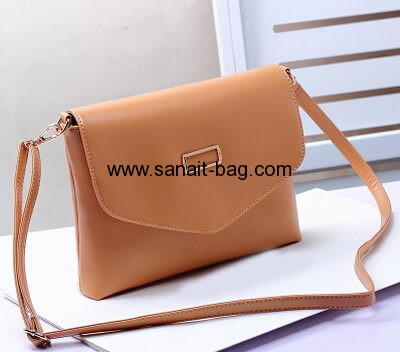 top sale PU leather envelop shape messenger bag for women WM-035