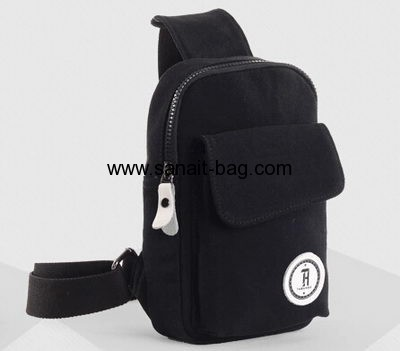 Top quality outdoor canvas waist bag for man MB-057
