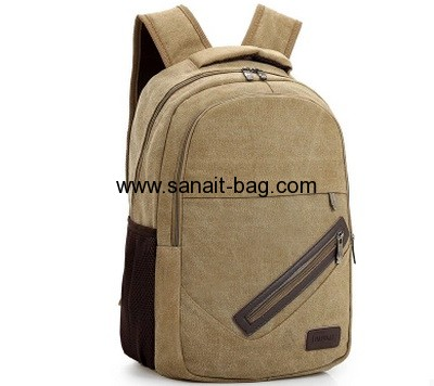 Canvas backpacks for college MB-063
