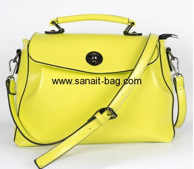 Women genuine leather messenger bags WM-042