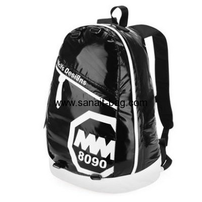 Womens fashion design PU leather backpack school bag WB-079