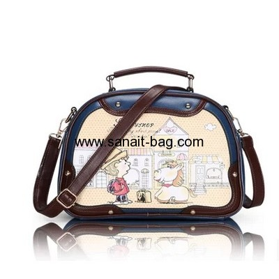PU leather fashion handbags for young ladies WT-164