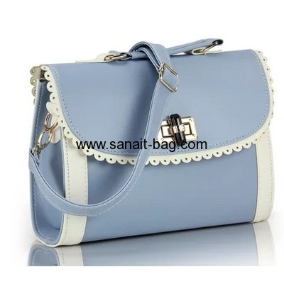 Fashion design PU leather handbags for young ladies WT-167