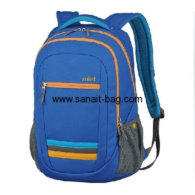 Polyester travel backpack school bag for  boys MB-075