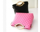 Fashion design PU messenger bag for ladies with handle WM-054
