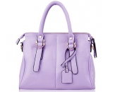 Ladies PU leather leisure large capacity handbag WT-175