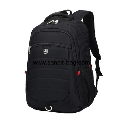 Nylon mens business travel backpack with laptop bag MB-080