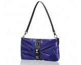 Ladies purple nylon messenger bag WM-060