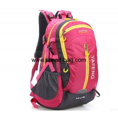 Nylon school backpack bag computer bag  for women WB-095
