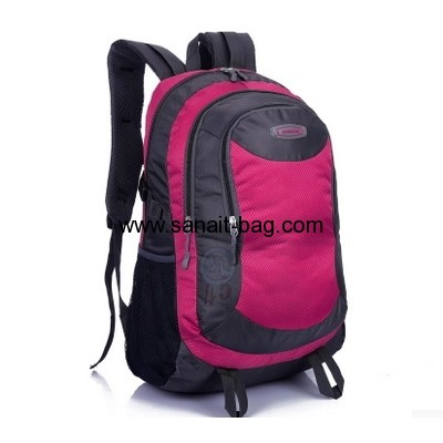 Ladies Nylon laptop backpack travel hiking backpack WB-096
