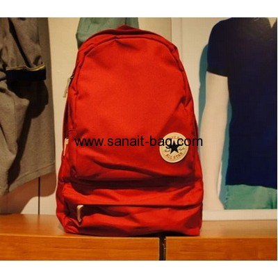 Fashion canvas travel backpack manufacturers china WB-098