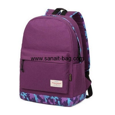 Customized nylon backpack school bag backpack backpack travel bag WB-106