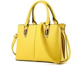 Factory customized pu tote bag lady hand bag fashion bag WT-221