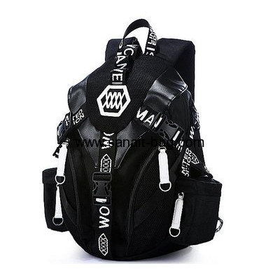 Custom oxford backpack school bag backpack shoulder bag MB-088
