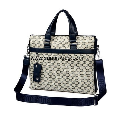 Wholesale business bag briefcase for man custom tote bag hand carry bag MT-095