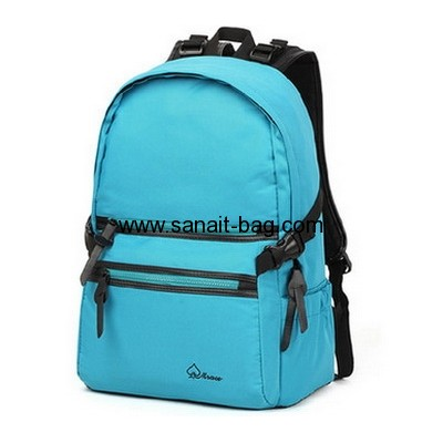 Custom canvas fashion computer backpack WB-110