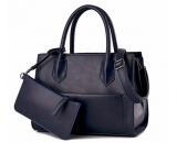 Factory direct sale european tote bag pu leather handbag bag lady WT-225