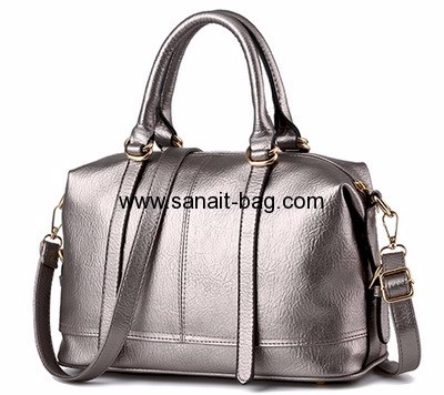 Factory custom pu tote bag fashion hand bag retro bag WT-231