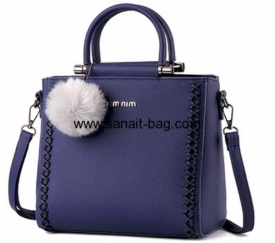 Factory custom design tote bag shoulder bag fashion trends ladies bags ladies handbag WT-238