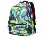 Custom design hydration backpack canvas bag wholesale high class student school bag WB-122