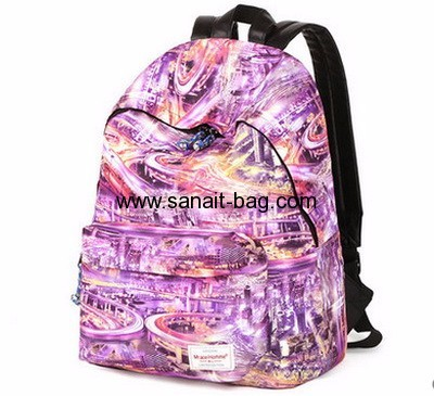 Canvas bag wholesale bag school backpack bag WB-124