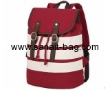 Customized canvas backpack women