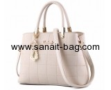 China bag manufacturer custom design pu handbags tote bag WT-284
