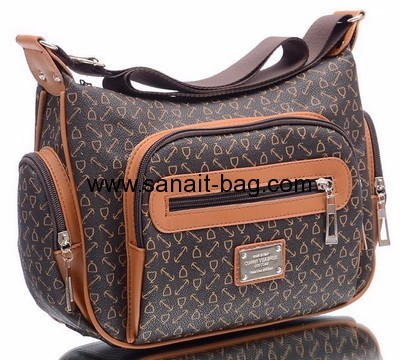 PU leather bags manufacturers hot selling PU leather lady bag woman