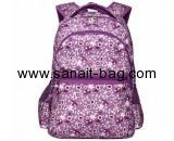 China bag manufacturer custom design polyester backpack school bags WB-135