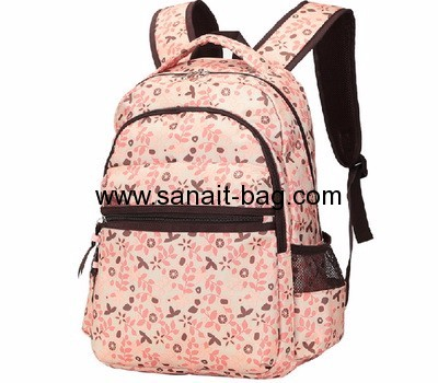 China bag manufacturers custom polyester backpack girls backpacks WB-139