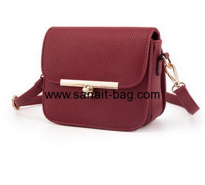 China bag supplier custom designer polyurethane handbags WT-324