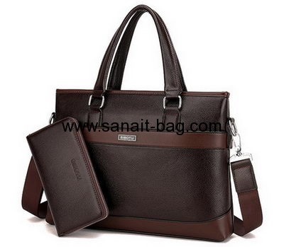 Leather handbag manufacturers in china custom PU leather laptop office bag for men MT-145