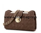 Handbag factory in china custom luxury pu leather handbag ladies bags  WT-336