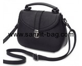 Handbag suppliers in china custom black leather handbags pu leather bags WT-338
